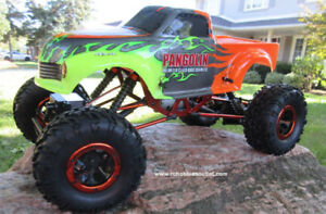 New RC Rock Crawler Truck 4WD RTR 2.4G 1/10 Scale 1 Year Warr