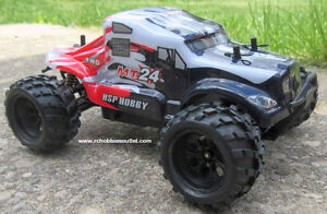 New RC Monster Truck Electric 1/24 Scale RTR 2.4G 4WD