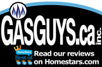 GasGuys.ca Inc. - Natural Gas lines for Stove, Range or BBQ $350