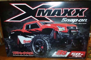 NEW RED traxxas snap on edition 8S xmaxx x-maxx rc truck new