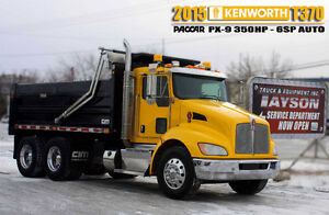 2015 KENWORTH T370 GRAVEL TRUCK ***AUTOMATIC***