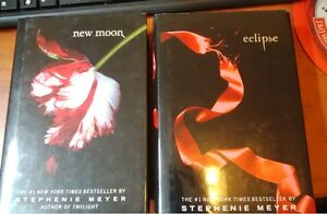 new moon and eclipse from the twilight series by stephenie meyer Kitchener / Waterloo Kitchener Area image 1