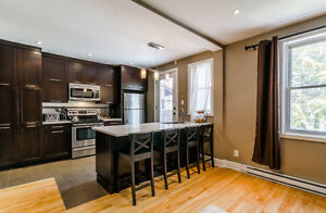 MTL west/NDG Upper duplex renovated 2 bedroom