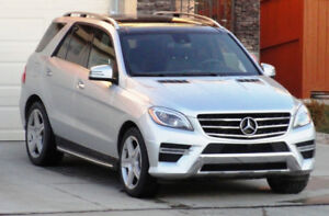 2015 Mercedes-Benz  ML 350 BlueTEC V6, 3L Diesel,1st OWNER