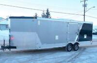 4 Place Snowmobile/Car Combo Trailer