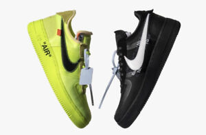 Wanted:BUYING: Off-White x Nike Air Force 1 Black size 9