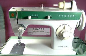 SINGER SEWING MACHINE 248C FACILITA DECORATIVE STITCHING NICE