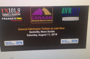 Canaan Mountain Music Festival (Blue Rodeo) and More