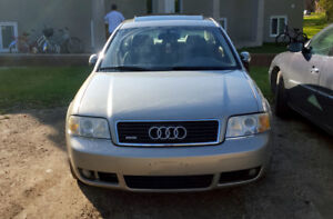 2002 Audi A6 3.0L - Sold As Is - 1500$ FIRM