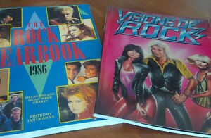 Books: The Rock Yearbook 1986; Visions of Rock Kitchener / Waterloo Kitchener Area image 1