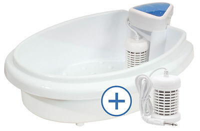 HydroSana Elektrolytische Detox Fußbad Elektrolyse inkl. 500g Aktivierungssalz