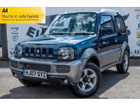 2007 SUZUKI JIMNY 1.3 JLX PLUS PART BLACK LEATHER SEATS ICE COLD AIR CONDITIONIN