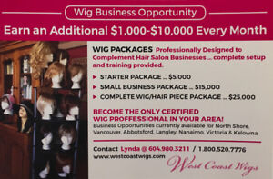 Wig & Hair Pieces Business Opportunity