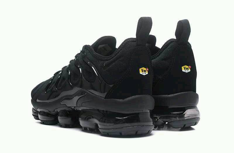 timeless design f8e10 d5ea3 New 2018 Nike Air Vapormax Tn Plus 97 95 Max Triple Black