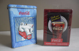 Coca-Cola Playing Cards NEW Three Packs Sealed