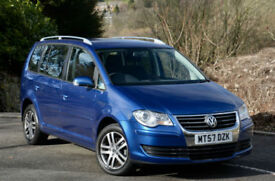 Volkswagen Touran 1.9TDI ( 105PS ) ( 7st ) 2008MY SE PEARL BLUE
