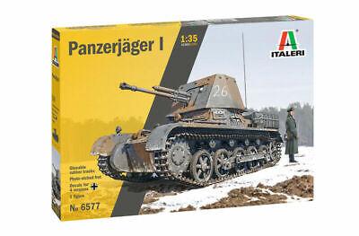 Italeri 6577 Deutscher Panzerjäger I Plastik Modellbausatz 1:35 NEU