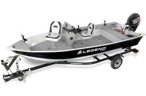WHAT A STEAL! 2016 Legend Boats ProSport SC 16 W/ 25 ELPT
