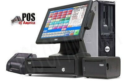 Pcamerica Pos System Rpe Restaurant Pro Express 1 Pos Station Pizza Bar New