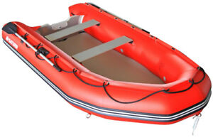 Brand New Saturn 12 foot inflatable boat & launching wheels