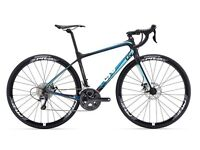 giant liv avail advanced 1 (frame,fork & seatpost only) size xs