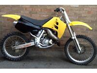 Suzuki rm125 125cc crosser like Dt yz cr rs dr etc