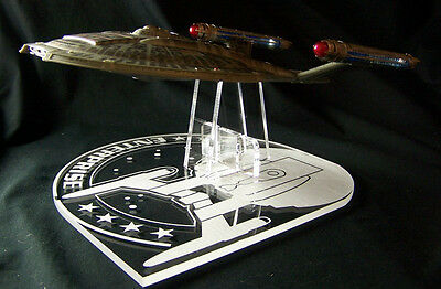 acrylic display stand for Diamond Select Enterprise NX-01 Star Trek