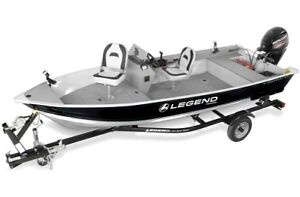 WHAT A STEAL! 2016 Legend Boats ProSport SC 16 W/ 25 ELPT