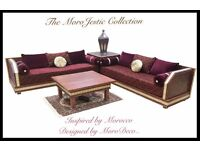 Bespoke Handcrafted Moroccan Sofa & Furniture inspired by Morocco, Designed by MoroDeco..