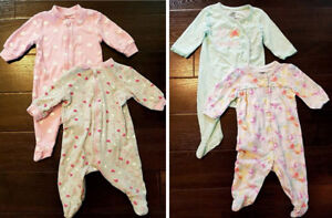 Baby girl clothing (size 0-3 months)