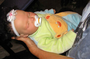 Hand Finished Baby Girl Doll