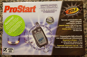 Remote Car Starter - Still in the box