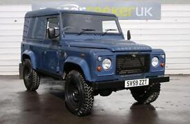 2010 Land Rover Defender Hard Top TDCi seeker heritage edition only 39000 mil...