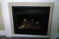 GAS FIREPLACE - SHOWROOM MODEL