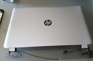 "HP 17 Laptop Parts:: 17.3"" Screen, Screen Bezel, Screen Lid"