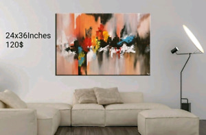 Abstract Original Painting,24x36 inches,Canvas