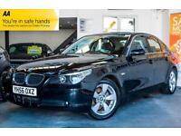2006 BMW 5 SERIES 2.5 523I SE 4DR PARKING SENSORS! FULL LEATHER! SALOON PETROL