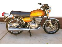 Classic motorcycle project wanted