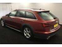2016 RED AUDI A6 ALLROAD 3.0 TDI 272 QUATTRO DIESEL AUTO CAR FINANCE FR £104 PW