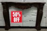 Fireplace Mantel /Mantle - 50% OFF