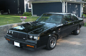 1987 Buick Grand National - A Real One Original Owner Vehicle