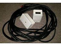 TP-Link TL-PA4020P + 2 x Cat 6A Ethernet Cables