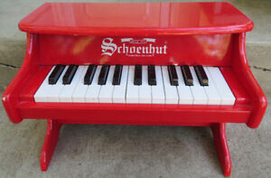 SCHOENHUT TOY UPRIGHT PIANO - PLAY or DISPLAY