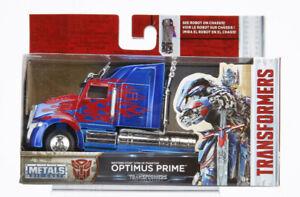 Jada 1:32 Metals Diecast Truck Optimus Prime Western Star
