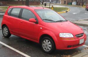 2008 Chevy Aveo 135,000 km $2200