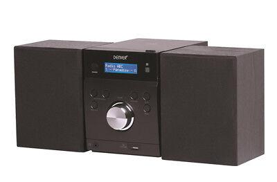 Stereoanlage mit CD, DAB+ Digitalradio, UKW, USB und AUX In Denver MDA 240