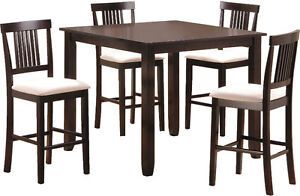 5 Piece Bar-Height Dining Set from The Brick