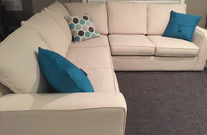 Sectional/couch - with cleaning protection plan