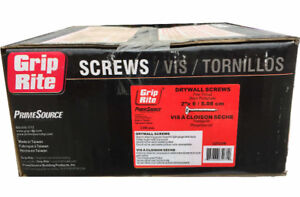 "Grip-Rite 2"" Fine Drywall Screws for $32.99"
