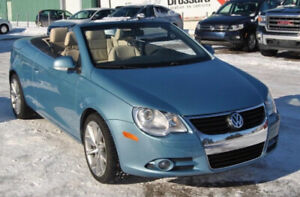 Hardtop VW EOS convertible (all year round!)
